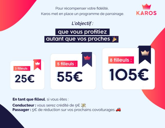 Programme de parrainage de Karos